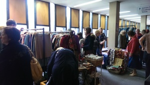 Shoppers at Britain Does Vintage, Nottingham